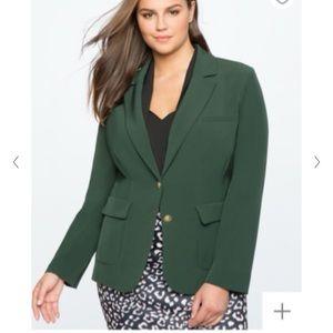 Eloquii Emerald Green Blazer, size 16